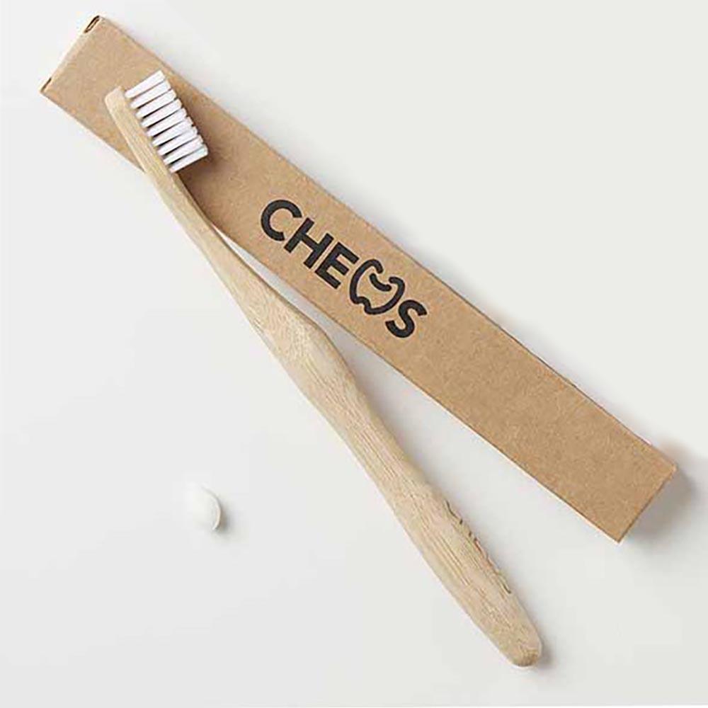 Chews Bamboo Toothbrush - Medium