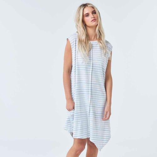 Torju Lorne Organic Cotton Stripe Dress