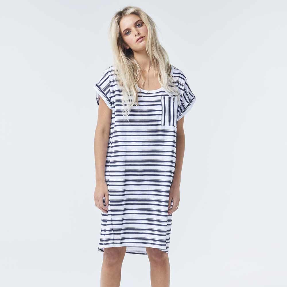 Torju Hoptoun Falls Stripe Dress - Large
