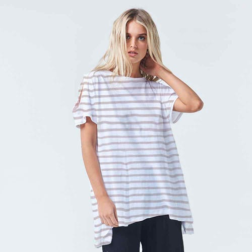 Torju Sunkissed Organic Cotton Stripe Top