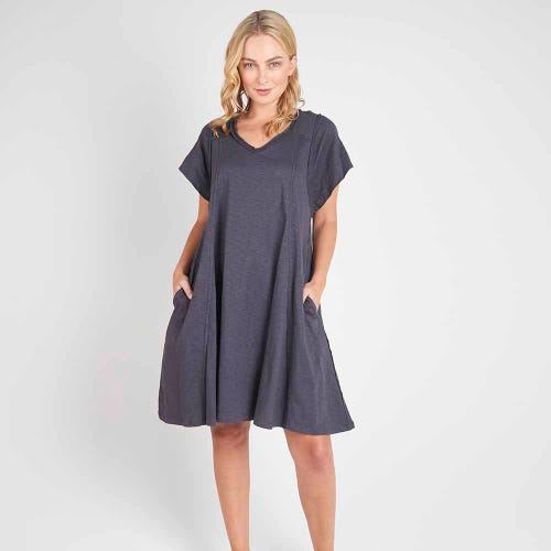 Torju Boardwalk Dress - Indigo