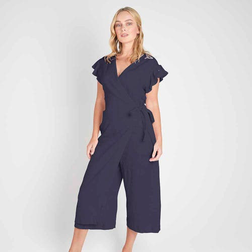 Torju Sunset Jumpsuit - Indigo Stripe