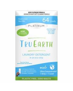 Tru Earth Platinum Laundry Detergent Eco-Strip - Fresh Linen (64 Loads) | Flora & Fauna Australia