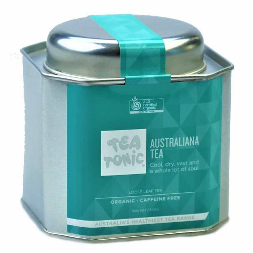 Tea Tonic Australiana Loose Tea in a Tin 100g