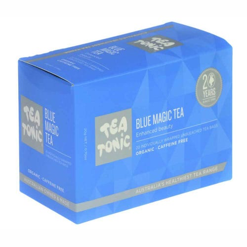 Tea Tonic Blue Magic Tea Bags (20)
