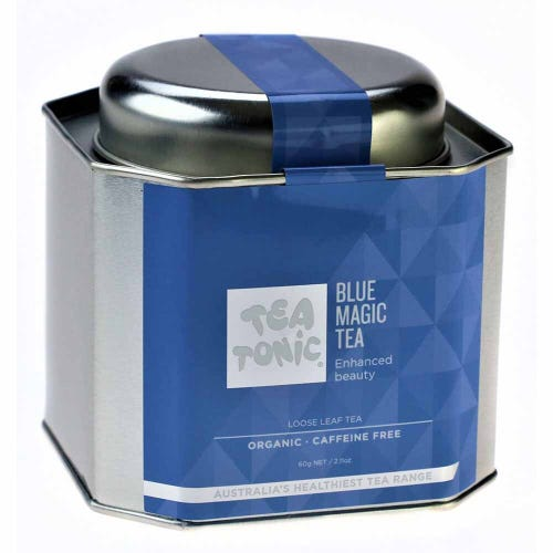 Tea Tonic Blue Magic Loose Tea in a Tin 60g