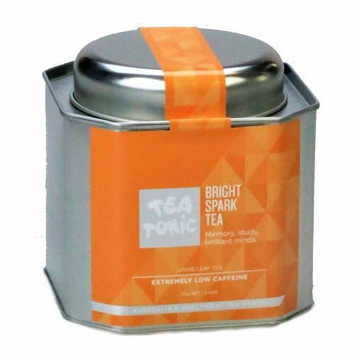 Tea Tonic Bright Spark Loose Tea in a Tin 125g