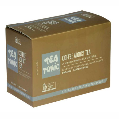 Tea Tonic Coffee Addict Tea Bags (20)