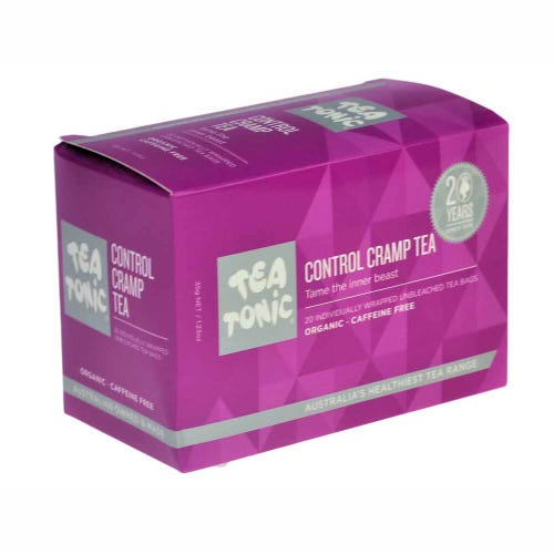 Tea Tonic Control Cramp Tea Bags (20)