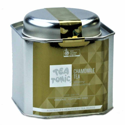 Tea Tonic Chamomile Loose Tea in a Tin 70g