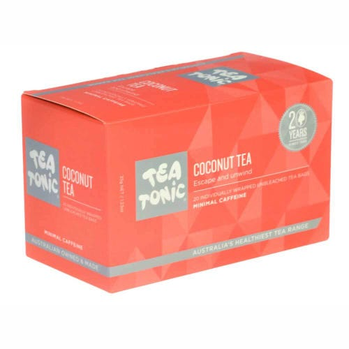 Tea Tonic Coconut Tea Bags (20)