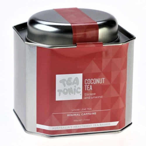 Tea Tonic Coconut Loose Tea in a Tin 200g