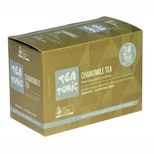 Tea Tonic Chamomile Tea Bags (20)