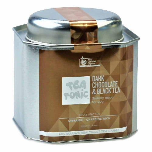 Tea Tonic Dark Chocolate & Black Loose Tea 250g