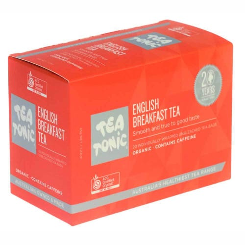Tea Tonic English Breakfast Tea Bags (20)