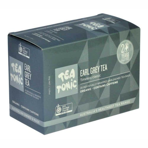 Tea Tonic Earl Grey Tea Bags (20)