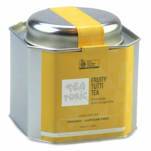 Tea Tonic Fruity Tutti Loose Tea Caddy 200g