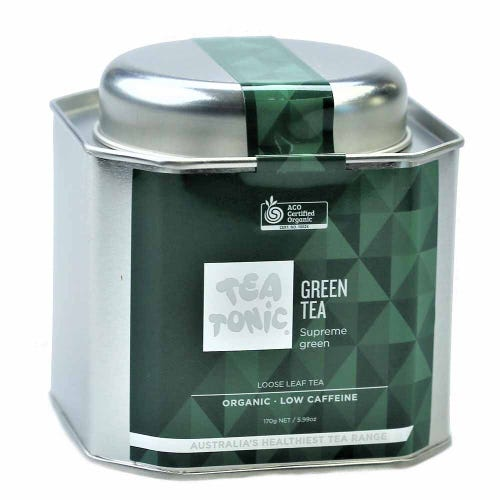 Tea Tonic Green Tea Loose in a Tin 150g