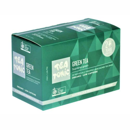 Tea Tonic Green Tea Bags (20)