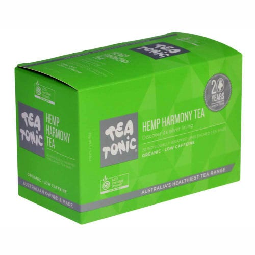 Tea Tonic Hemp Harmony Tea Bags (20)