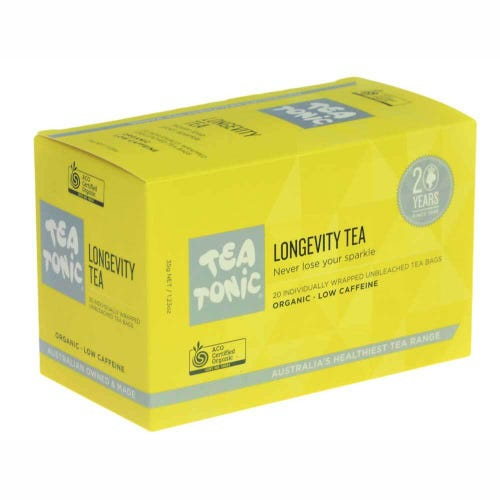 Tea Tonic Longevity Tea Bags (20)