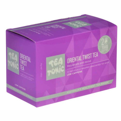 Tea Tonic Oriental Twist Tea Bags (20)