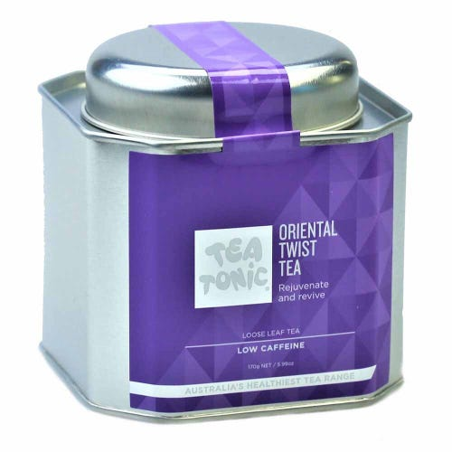 Tea Tonic Oriental Twist Loose Tea in a Tin 200g