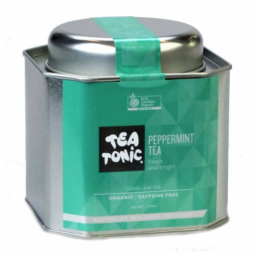 Tea Tonic Peppermint Loose Tea in a Tin 150g