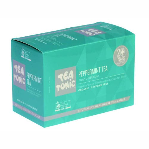 Tea Tonic Peppermint Tea Bags (20)