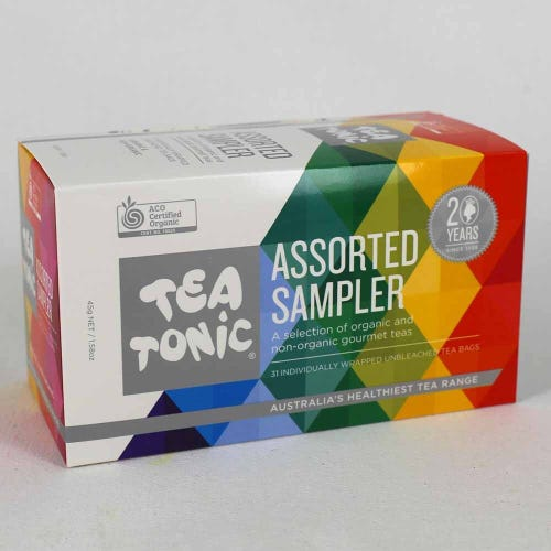 Tea Tonic Sampler Box (31 Bags)