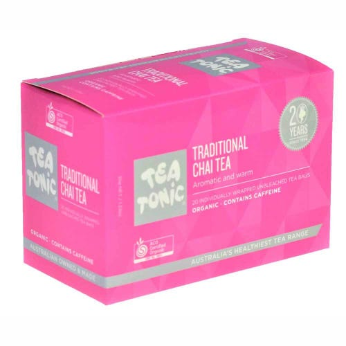 Tea Tonic Traditional Chai Tea Bags (20)