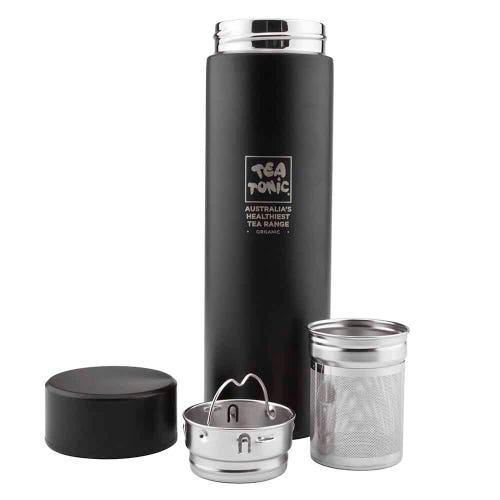 Tea Tonic Thermal Tea Infuser Black 450ml