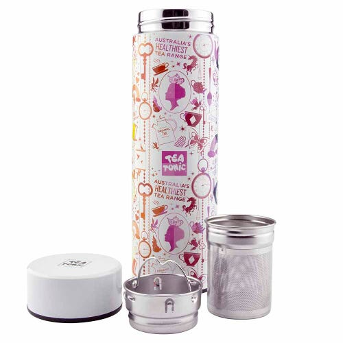 Tea Tonic Thermal Tea Infuser Rainbow 450ml