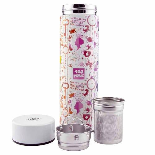 Tea Tonic Thermal Tea Infuser Rainbow 450ml