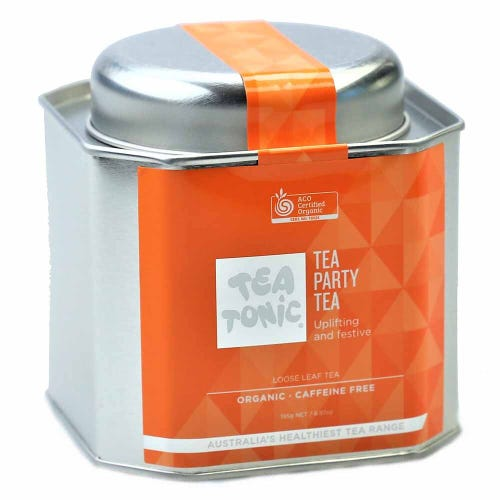 Tea Tonic Tea Party Loose Tea in a Tin 195g