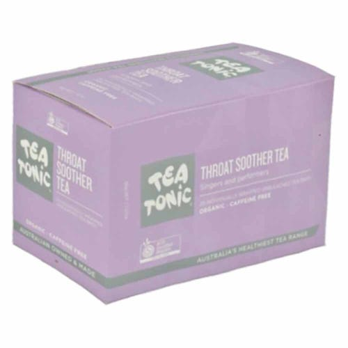 Tea Tonic Throat Soother Tea Bags (20)