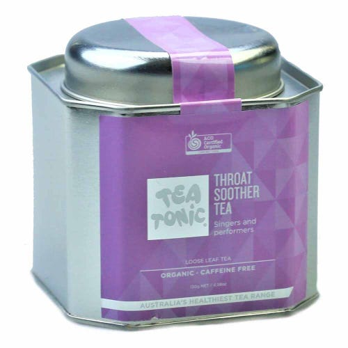 Tea Tonic Throat Soother Loose Tea in a Tin 130g