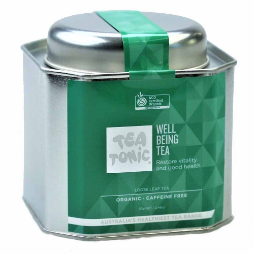 Tea Tonic Well Being Loose Tea in a Tin 70g
