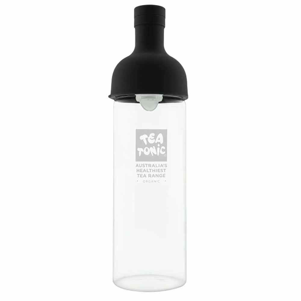 Tea Tonic Glass Wine Bottle for Teas Black- 750ml