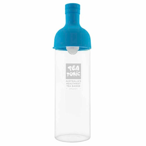 Tea Tonic Glass Wine Bottle for Teas Blue - 750ml