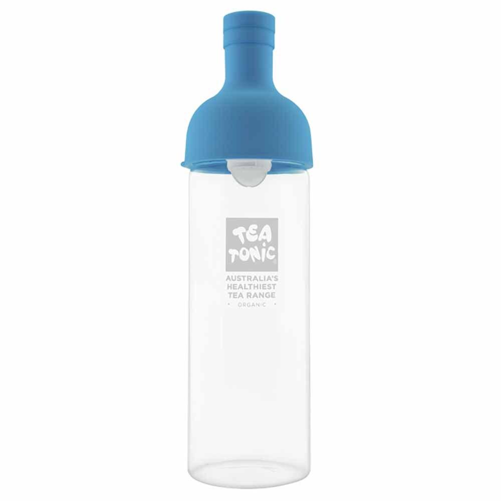 Tea Tonic Glass Wine Bottle for Teas Blue - 750ml