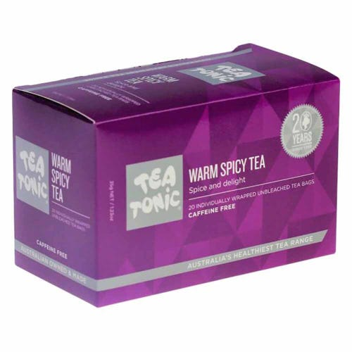 Tea Tonic Warm Spicy Tea Bags (20)