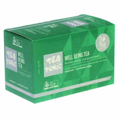 Tea Tonic Well Being Tea Bags (20)