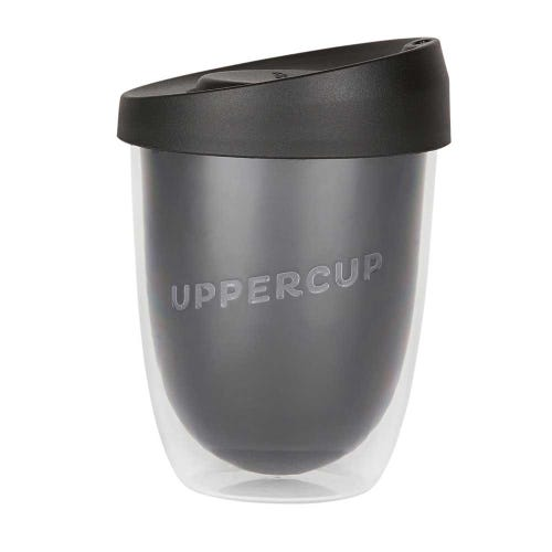 Uppercup Medium Coffee Cup Black (12oz)