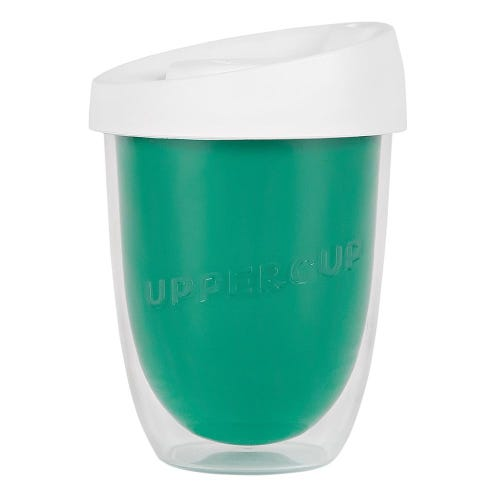 Uppercup Small Coffee Cup Teal (8oz)