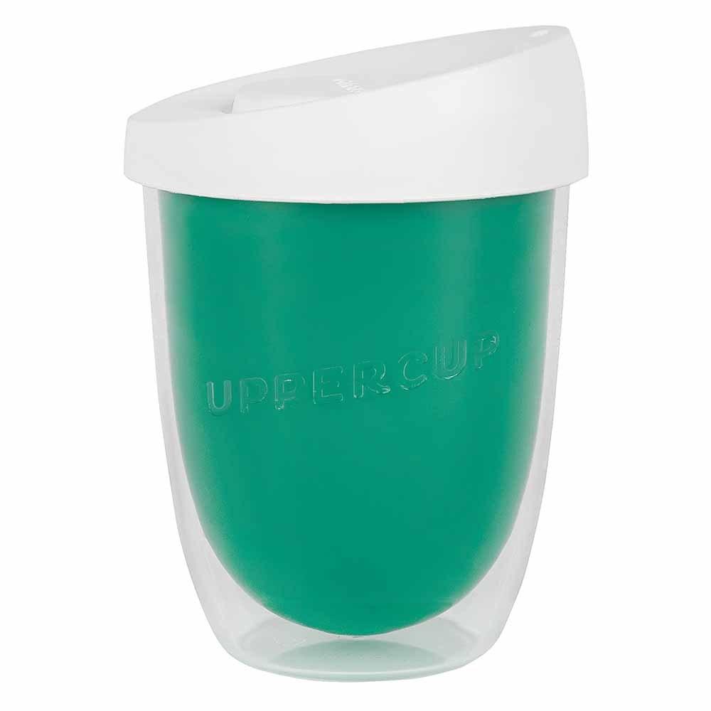 Uppercup Medium Coffee Cup Teal (12oz)