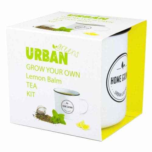 Urban Greens Grow Your Own Tea - Lemon balm