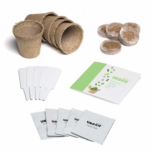 Urban Greens Kitchen Herbs Grow Kit