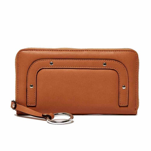 Urban Originals Cross My Heart Wallet Tan