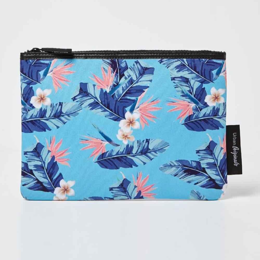 Urban Originals Starlet Pouch - Flower Blue